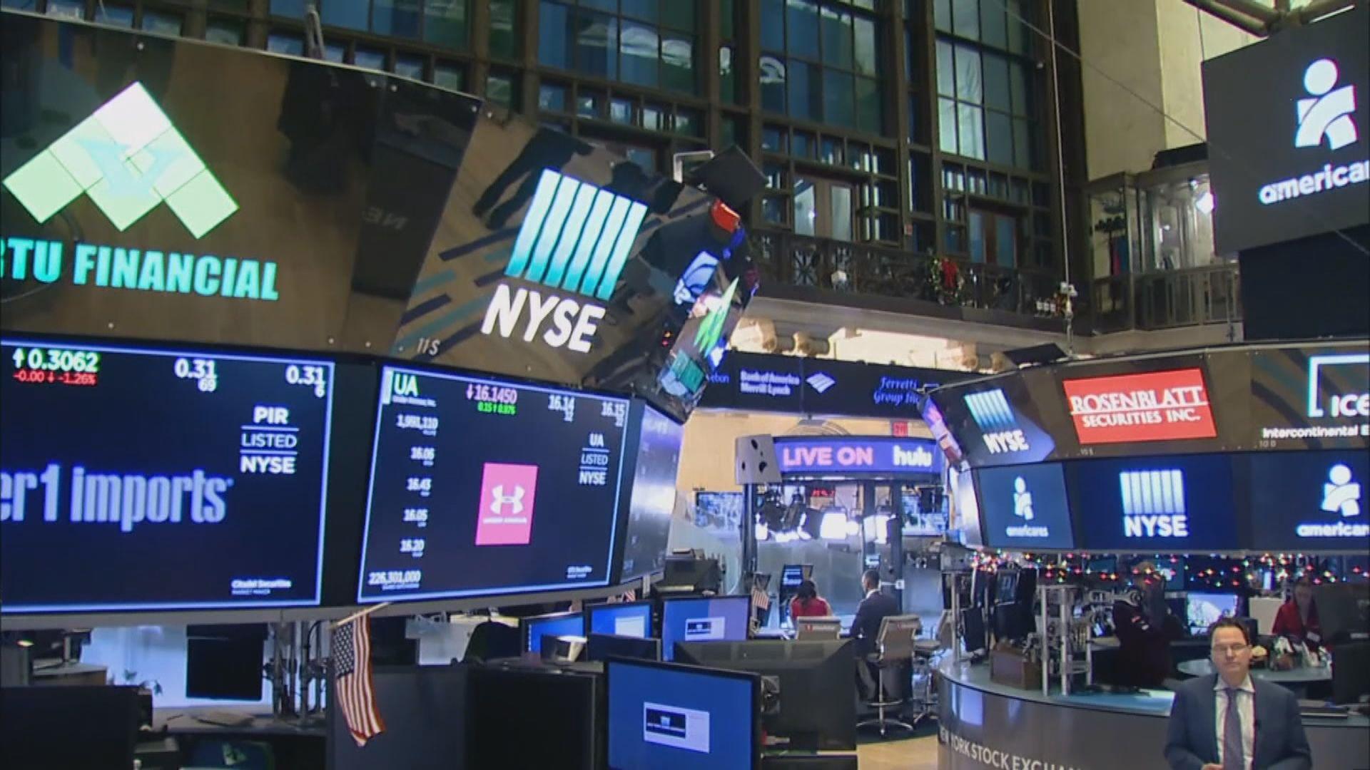 2020年最後一個交易日 道指及標指破頂