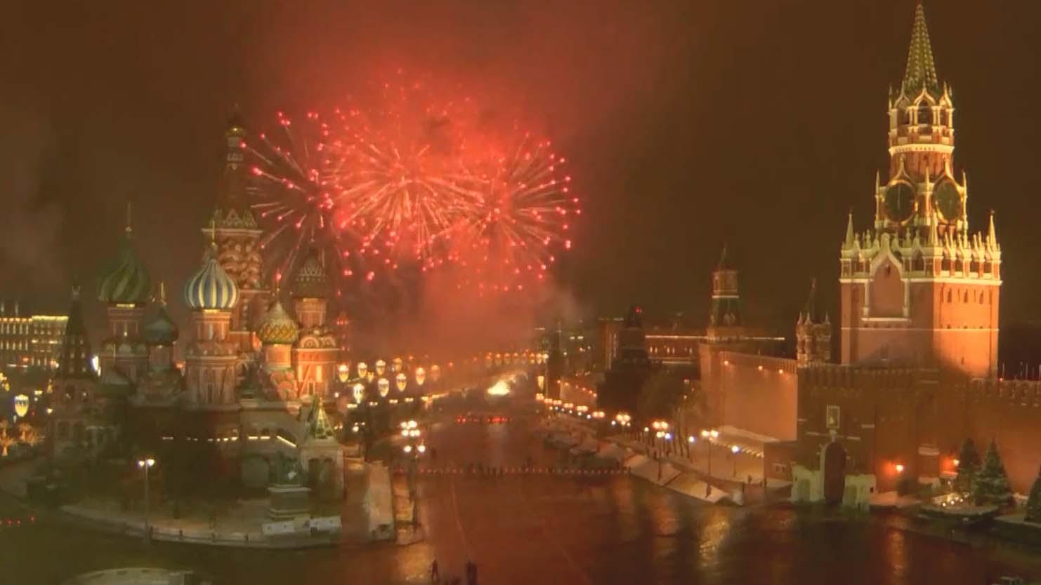 普京祝願新一年民眾生活回復正常