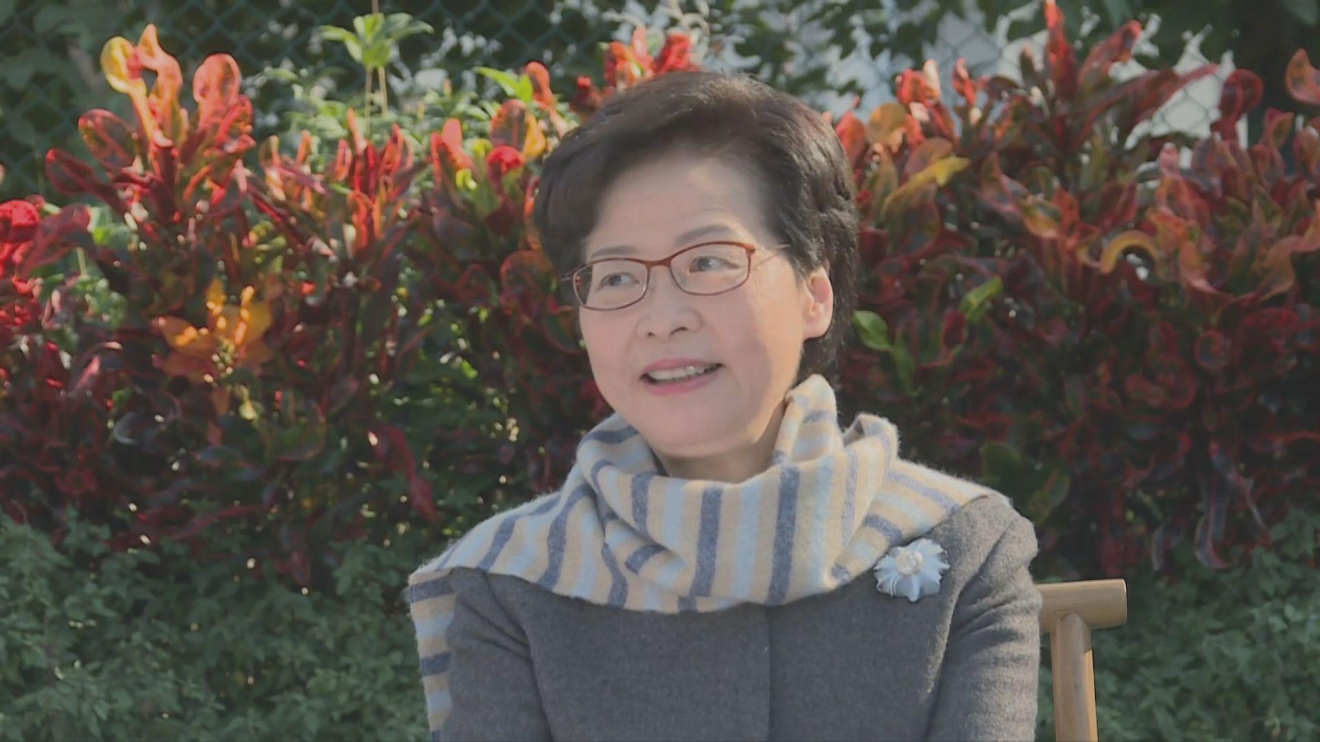林鄭:政府曾成立核心小組就國安法向中央提意見