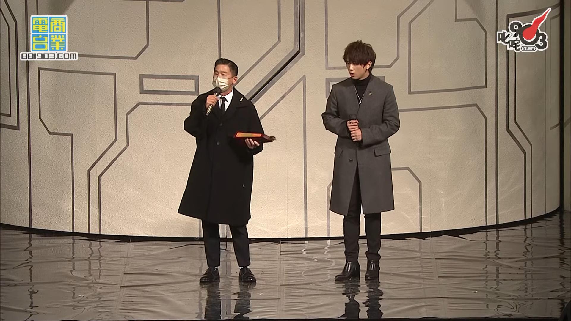 【叱咤2020】姜濤連奪兩獎 破紀錄成最年輕「我最喜愛的男歌手」(附完整得獎名單)