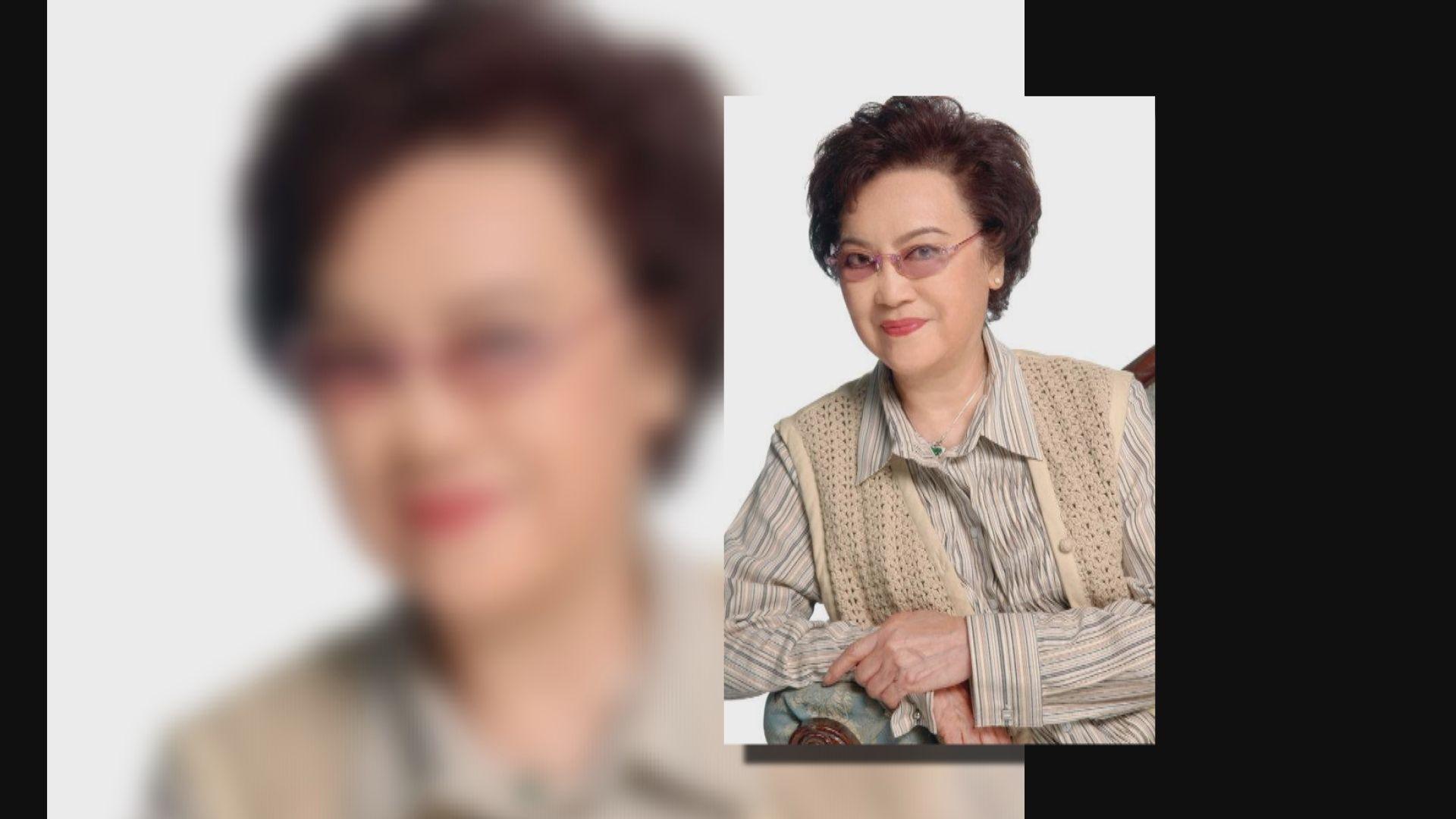 著名女藝人李香琴病逝 享年88歲
