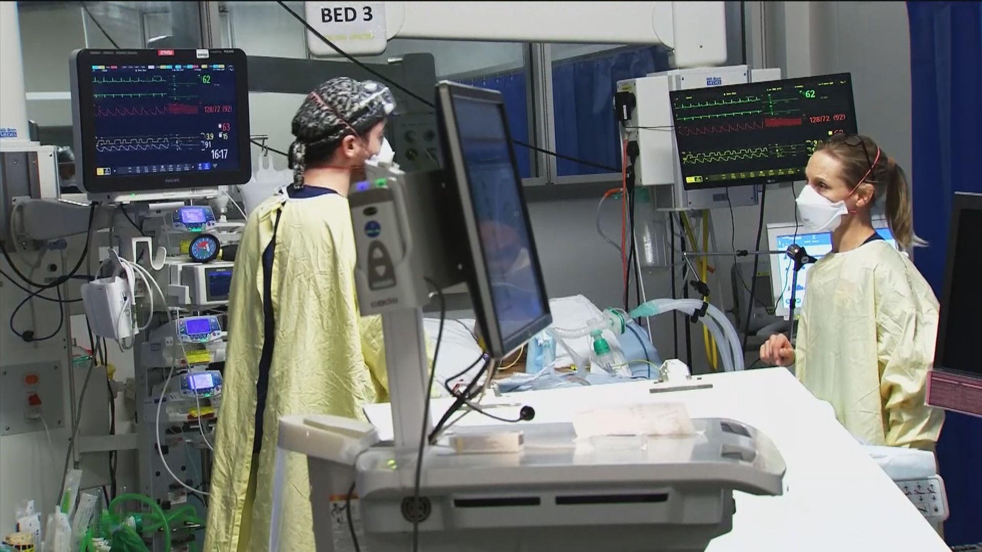 英格蘭再封城 英揆指變種病毒傳播力高醫療系統近飽和