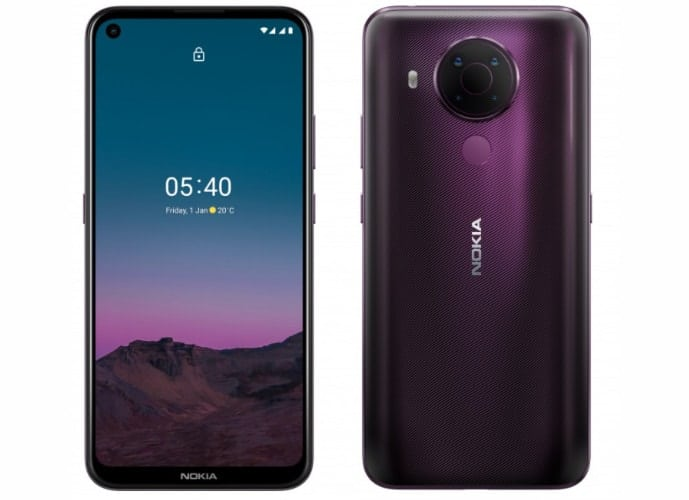 靚仔平價4G手機,NOKIA 5.4 開價$1,798