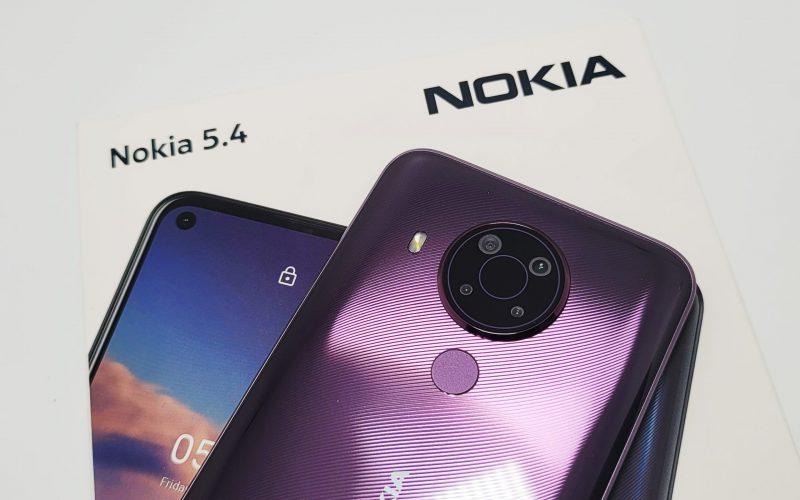 靚仔4G手機,NOKIA 5.4 上手!