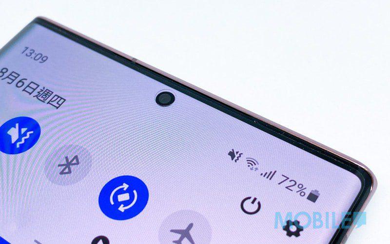 告別「家燕式」開孔,Samsung 屏下鏡頭專利曝光