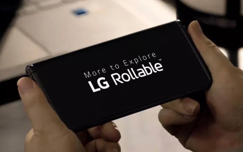 電動伸縮螢幕?首款捲屏手機 LG Rollable 現身
