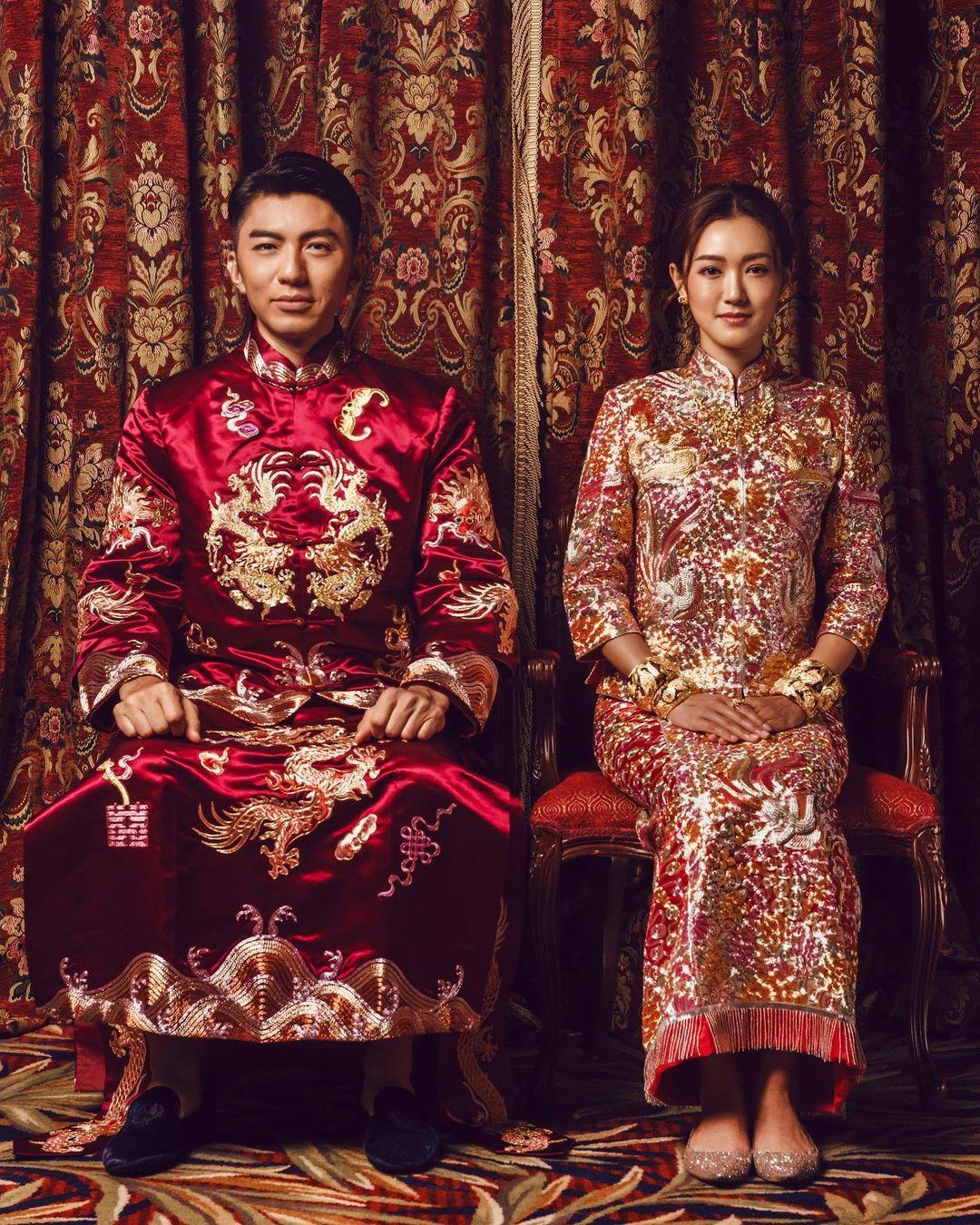 袁偉豪去年11月與張寶兒結婚