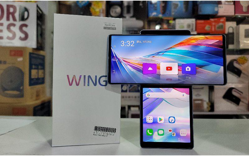 【水貨行情】T型屏幕手機 LG WING低見$5,680!
