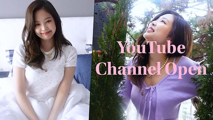 BLACKPINK Jennie開通Youtube頻道 首日吸近200萬訂閱