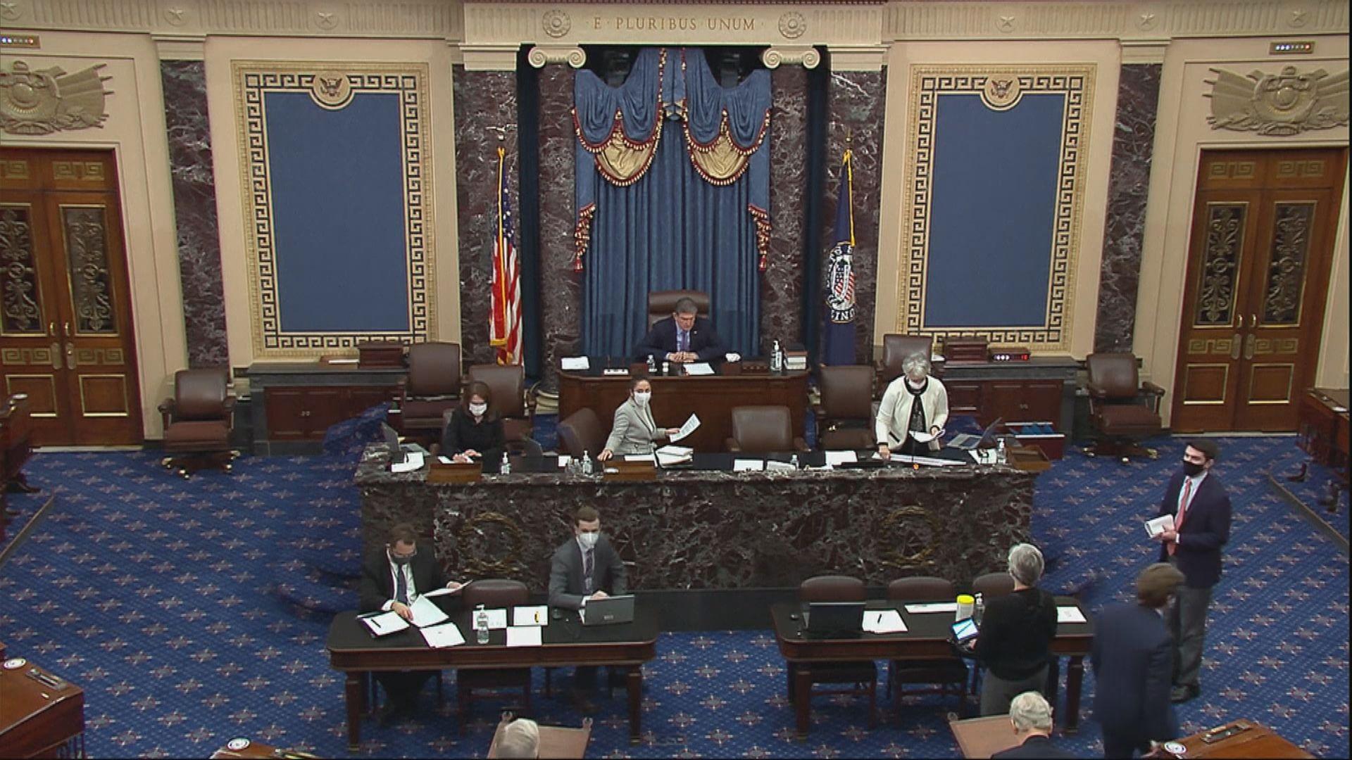 美眾議院下周一將針對特朗普彈劾條款提交參議院