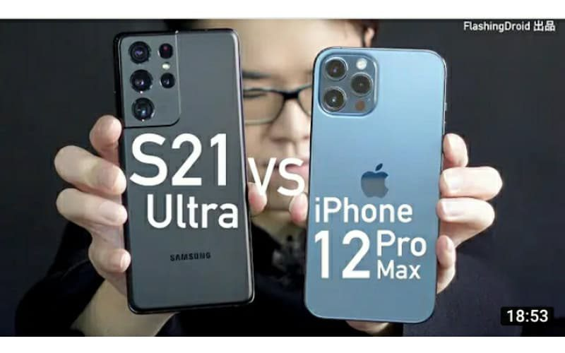 【全方向比拼】Samsung Galaxy S21 Ultra vs Apple iPhone 12 Pro Max 深入評測!