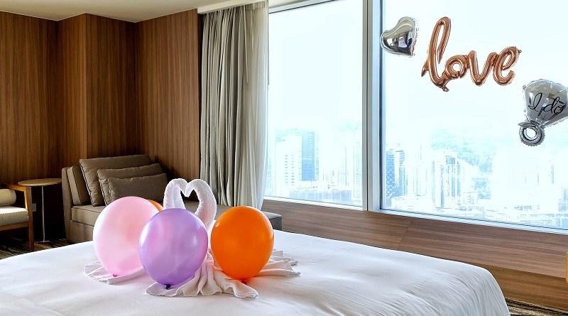 【香港Staycation】情人節浪漫住宿體驗 荃灣如心海景酒店