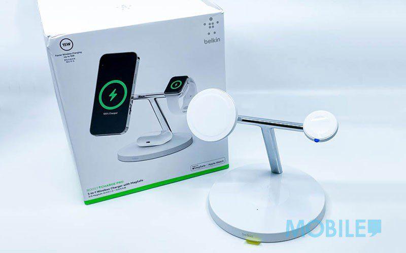 用 iPhone 12 更方便,Belkin 精製專屬 MagSafe 配件