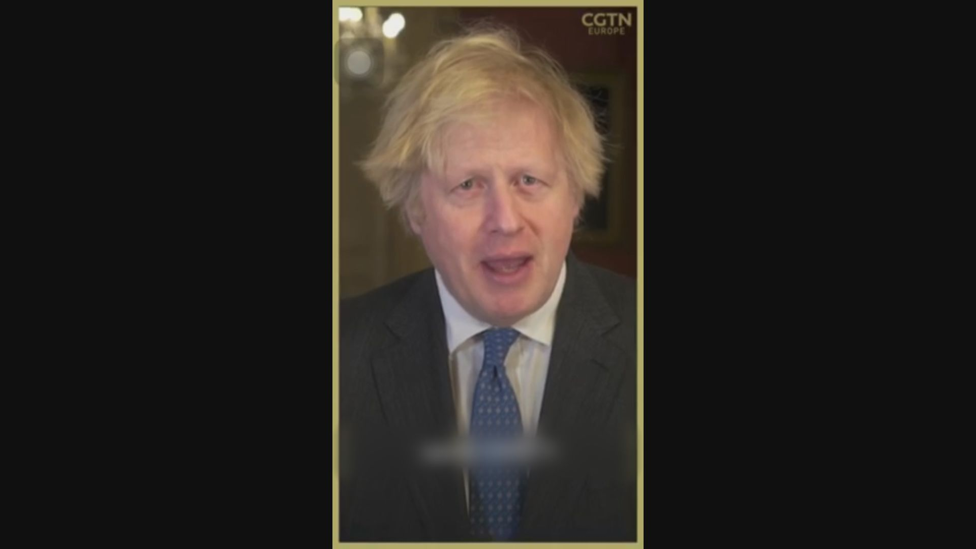 多國元首向民眾拜年 約翰遜向英國華人社區表示感謝