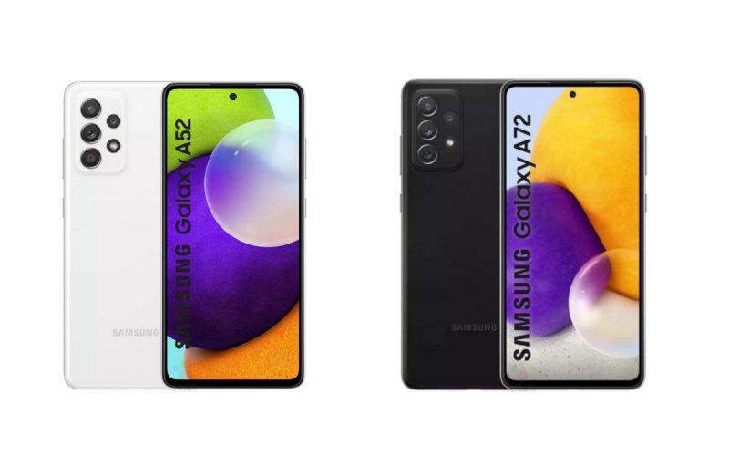 Samsung Galaxy A52、A72 即將發布!印度官網曝光兩款手機
