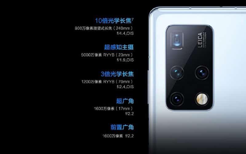 無摺痕螢幕技術、超感知 Leica 四鏡、最強摺芒機 Mate X2 發佈