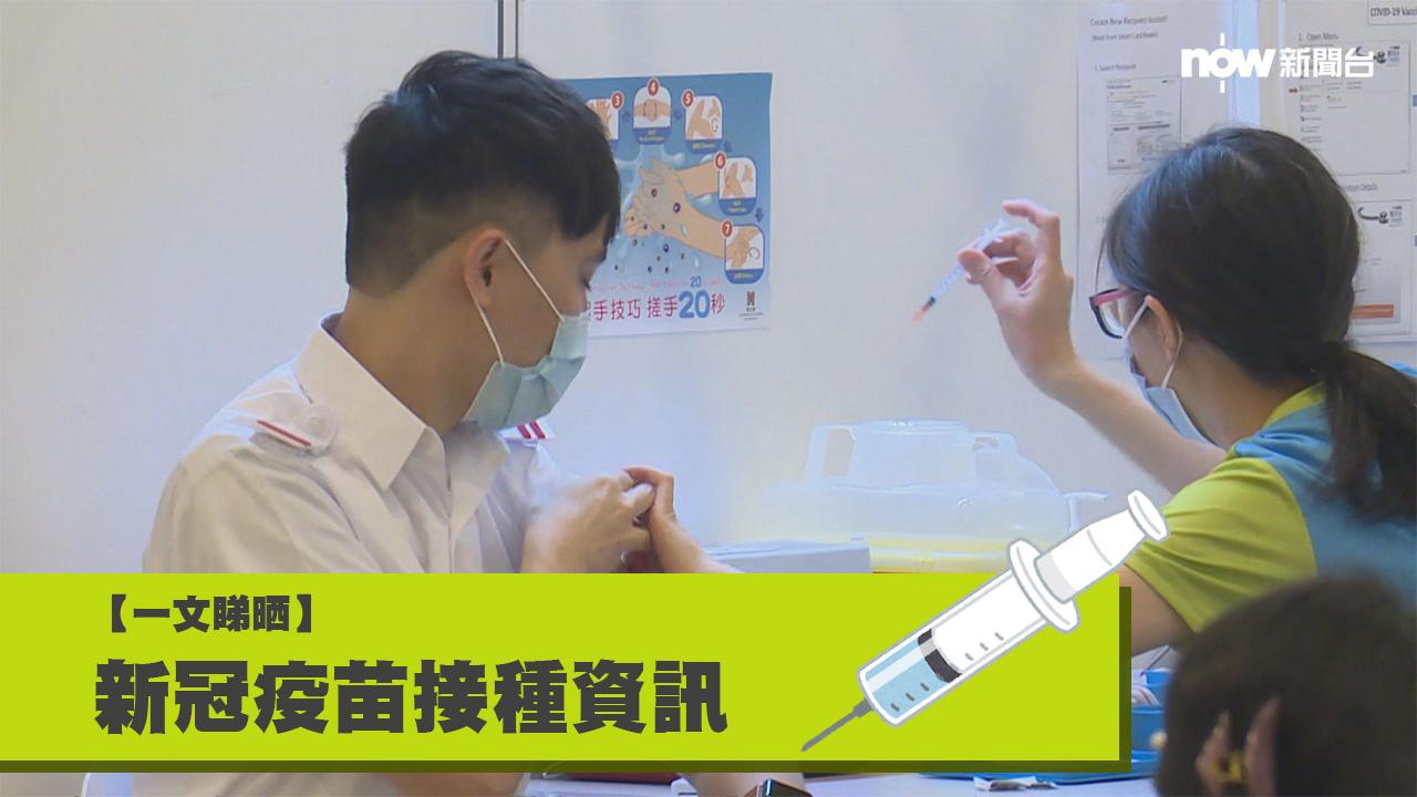 【持續更新】新型冠狀病毒疫苗接種資訊