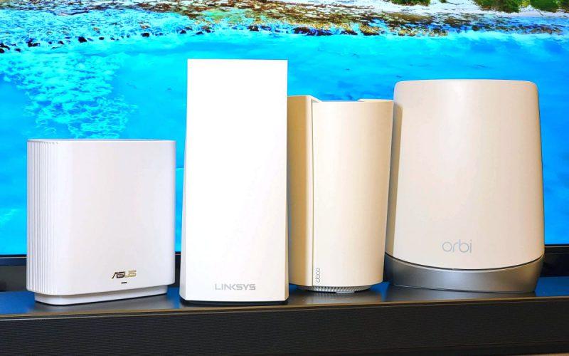 2021 年四款熱賣Wi-Fi 6 Mesh Router比較