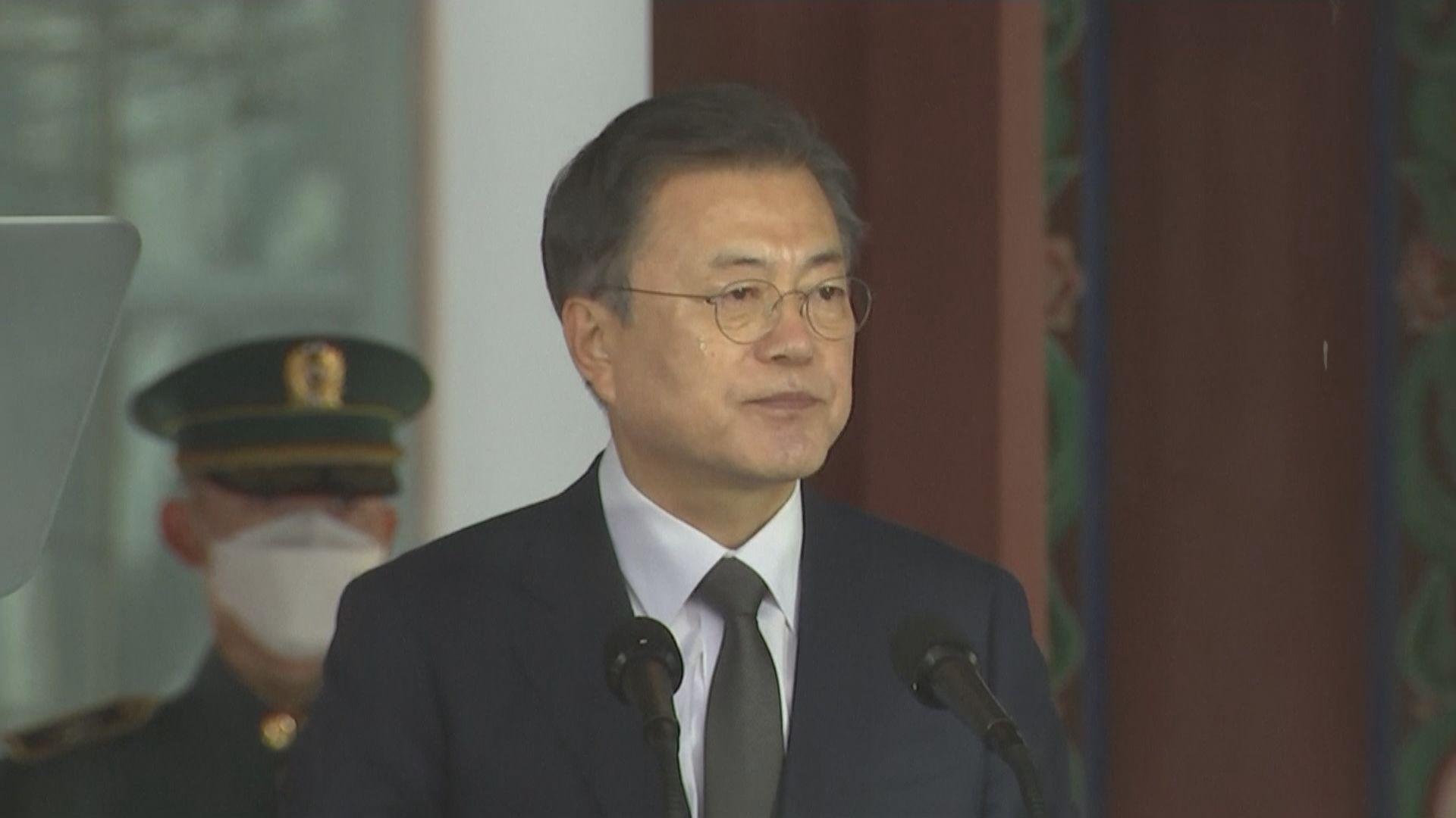文在寅:南韓準備好隨時與日本對話 討論歷史問題