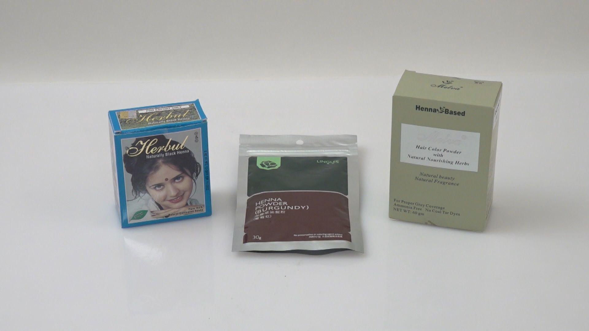 消委會:蠶豆症人士避免用草本海娜染髮粉免致嚴重溶血