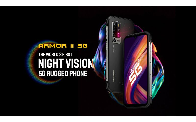 搭載夜視鏡頭的三防手機,uleFone ARMOR 11 5G 開價$3,499!