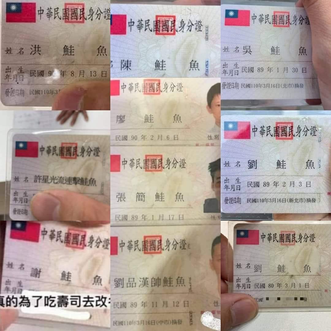 〈好笑〉台灣壽司郎推優惠 民眾紛紛改名「鮭魚」換免費餐!
