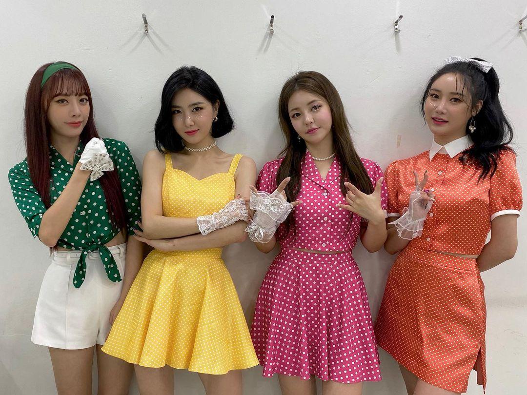 Brave Girls霉極翻身爆紅 全憑賣力為韓軍表演