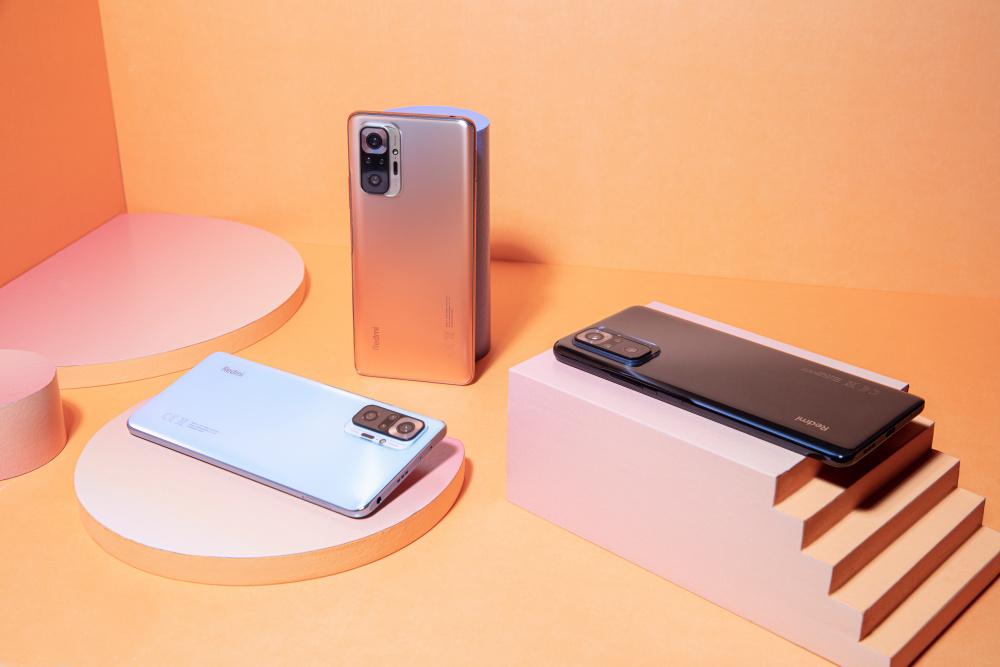 Redmi Note 10 及 Note 10 Pro 下月6日上市,開價$1,499起!