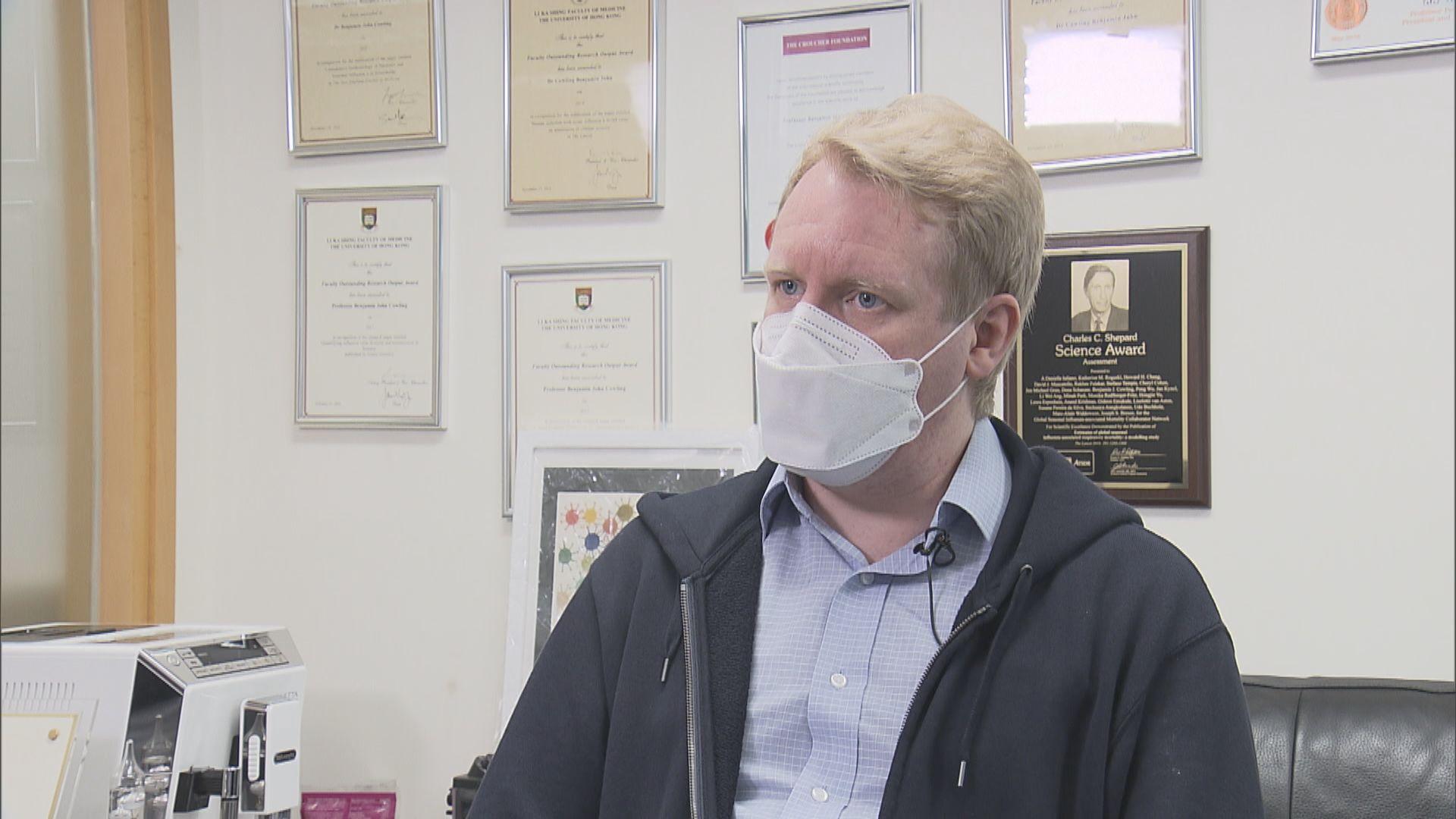 高本恩:科興保護率六成多 多人接種未必達群體免疫