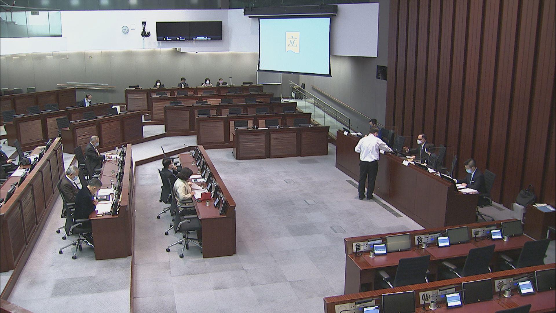 立法會小組委員會首次開會討論人大決定
