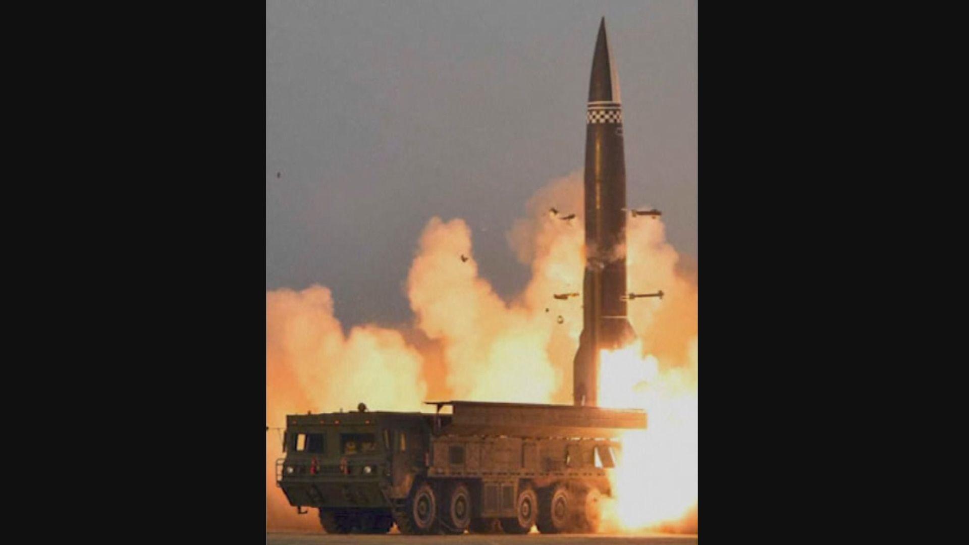北韓指成功試射新型導彈 拜登警告美國會採取相應行動