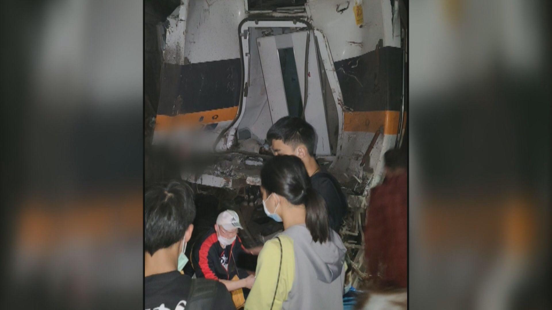 台鐵列車花蓮隧道出軌 據報最少48死過百傷