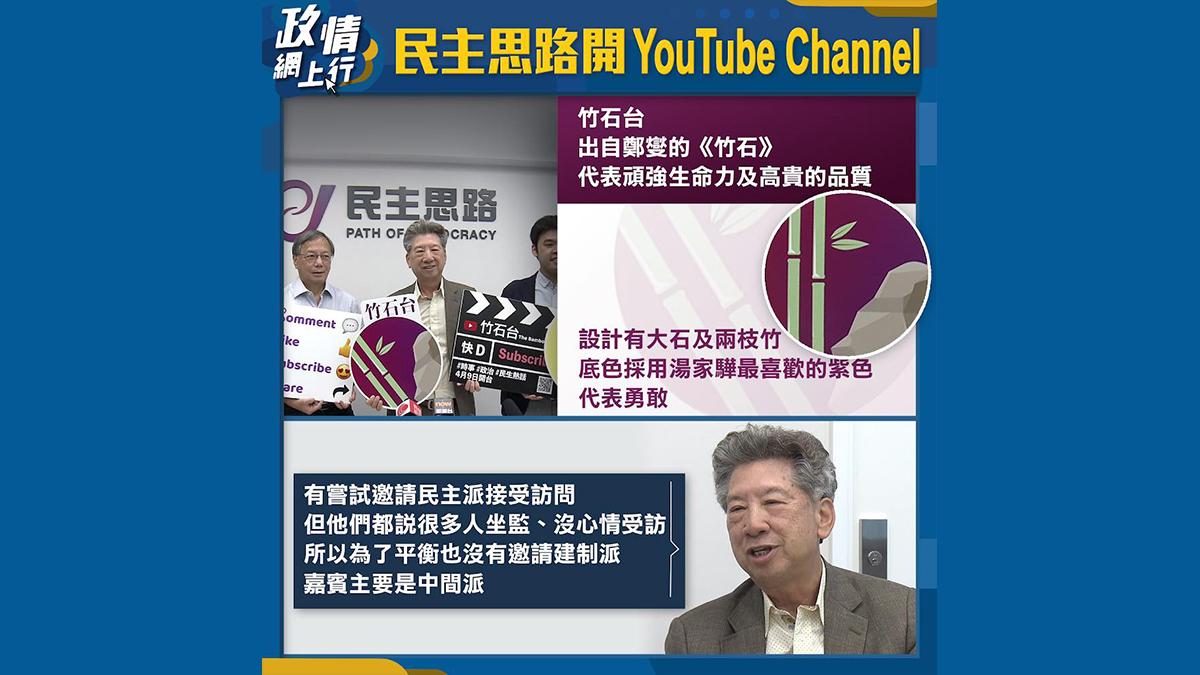 【政情網上行】民主思路開YouTube Channel