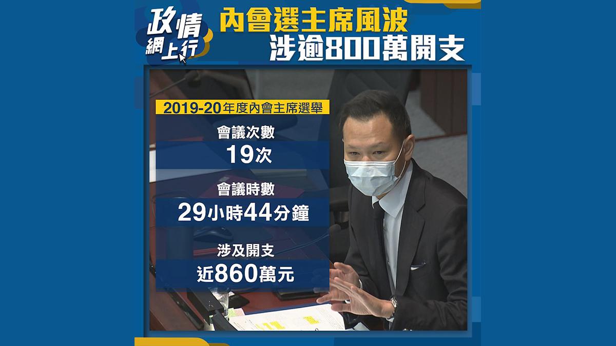 【政情網上行】內會選主席風波 涉逾800萬開支