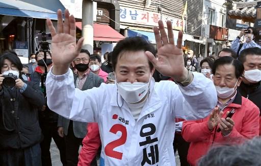 與市長候選人撞名 EXO世勳慶生廣告要延期