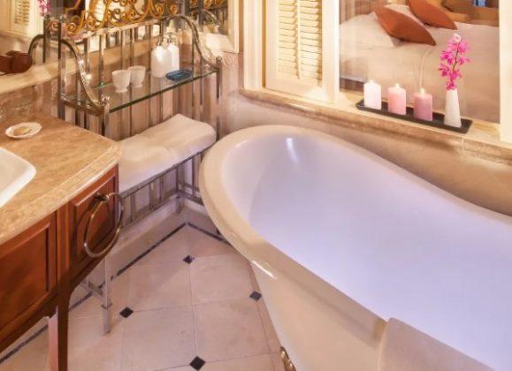 復古感的浴室設計