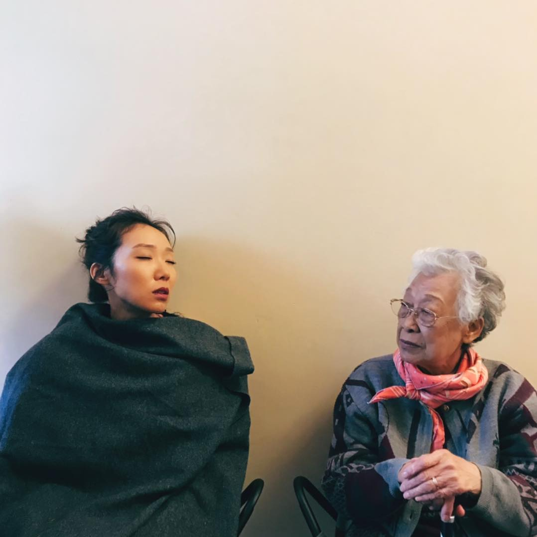 卓韻芝經常在社交網分享與婆婆的生活點滴