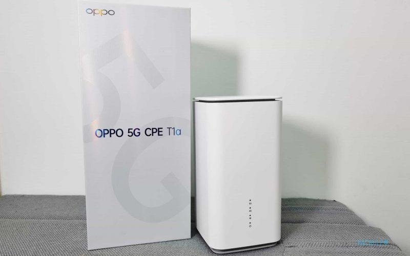 屋企都可以用5G上網,OPPO 5G CPE T1a 實試!