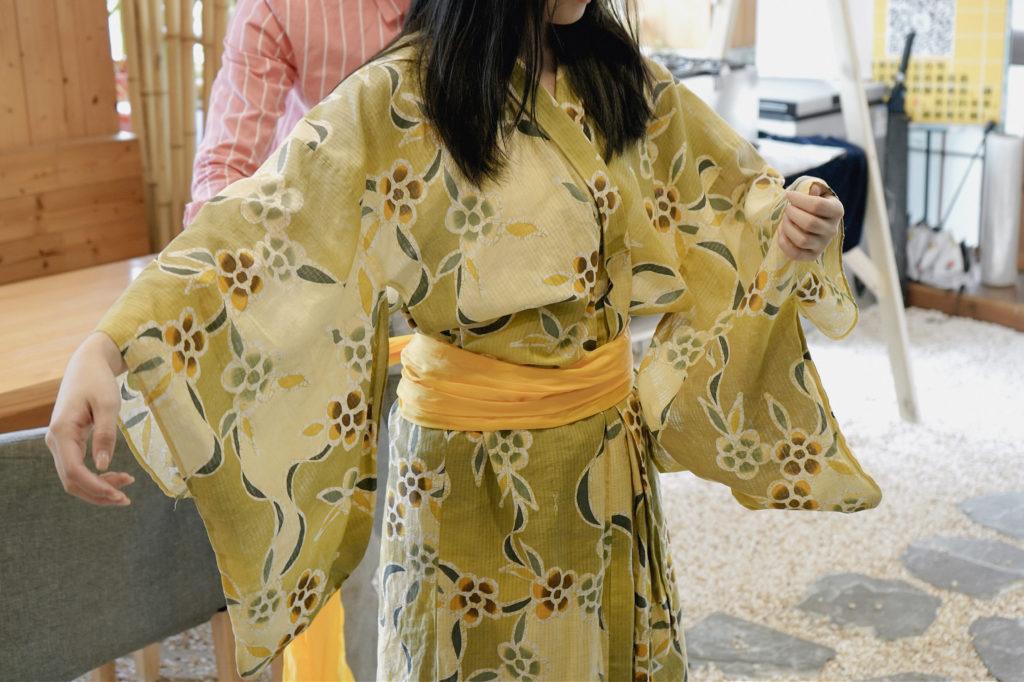 日式浴衣體驗!