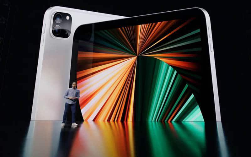 【Apple發佈會】用 MacBook M1 晶片、12.9 吋升級 mini-LED 芒,新 iPad Pro 面世$6,399 起