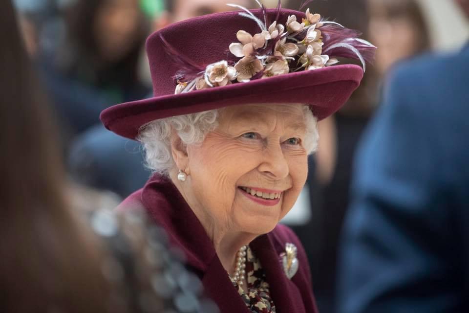 英國王室今日發放女王舊照