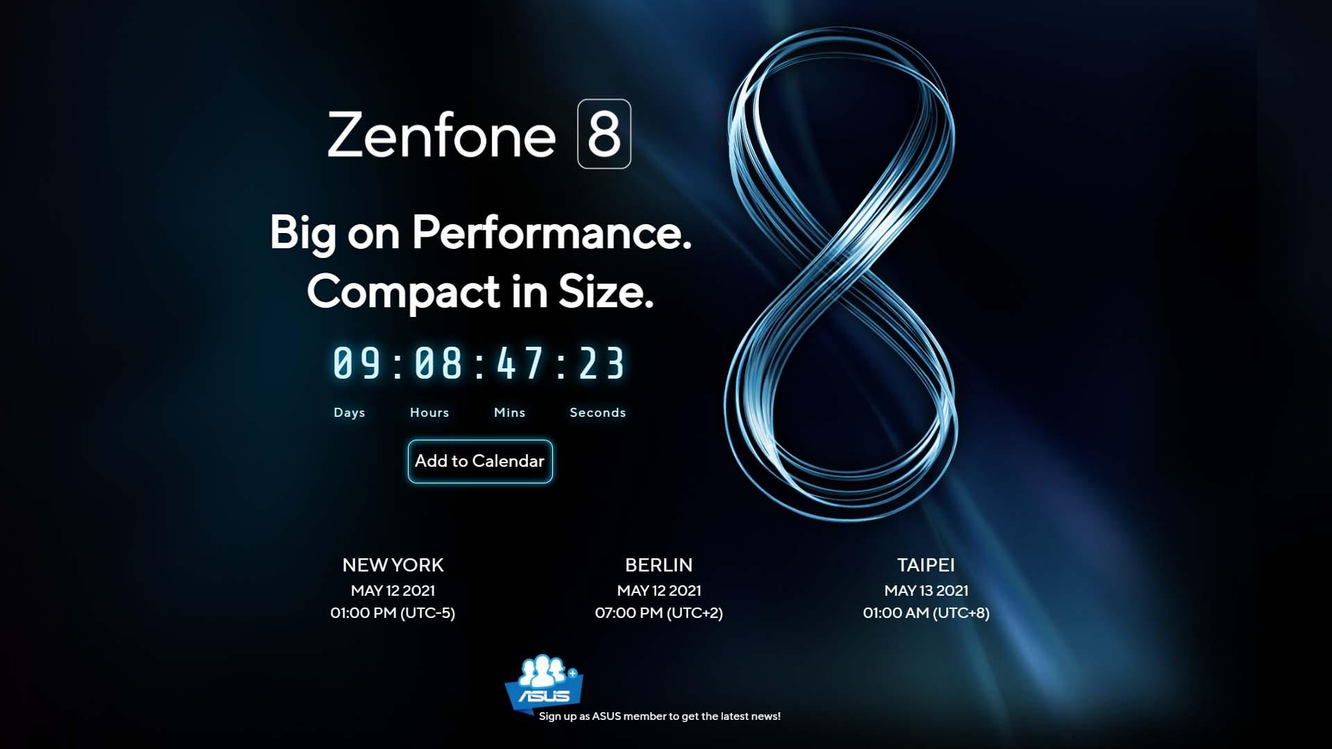 瞄準女性市場?Asus ZenFone 8 mini傳有5個容量版本