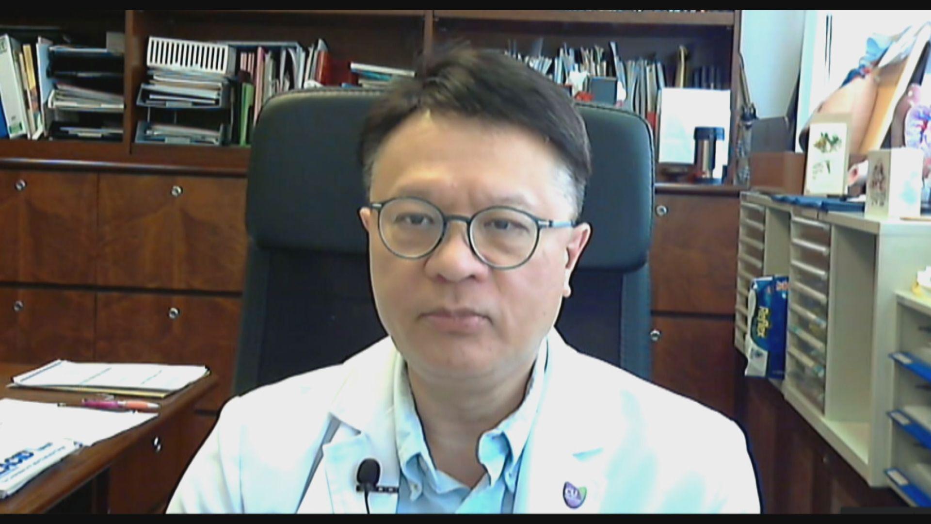 許樹昌:接種兩劑疫苗可14天檢疫中心加7日家居隔離