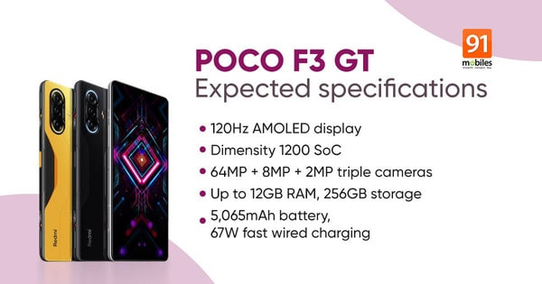 國際版 K40 遊戲手機 POCO F3 GT 定價曝光!