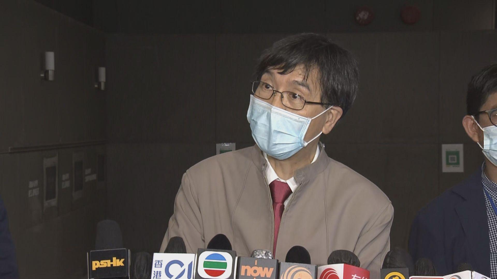 袁國勇:確診4歲男童懷疑1月已感染 或受病毒干擾