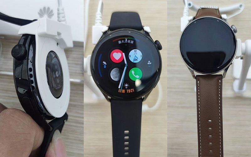 圓形螢幕、數碼錶冠,Huawei Watch3、Watch3 Pro 實機曝光