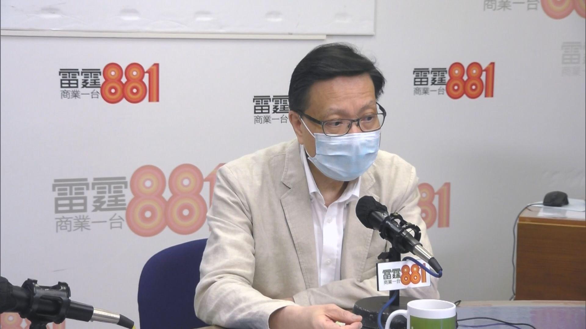 張炳良:民主黨應想清楚若不參選 政黨意義何在