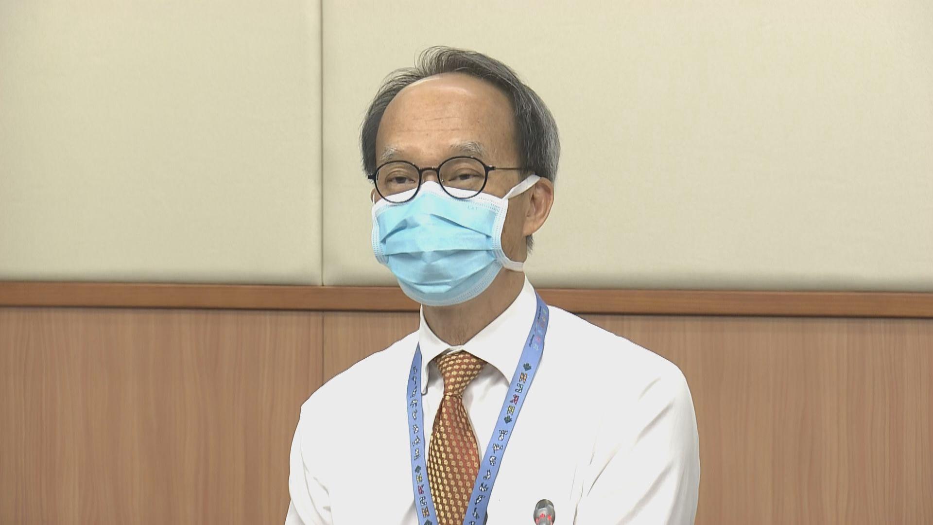 劉宇隆:校內學生接種率達七至八成就有條件全面復課