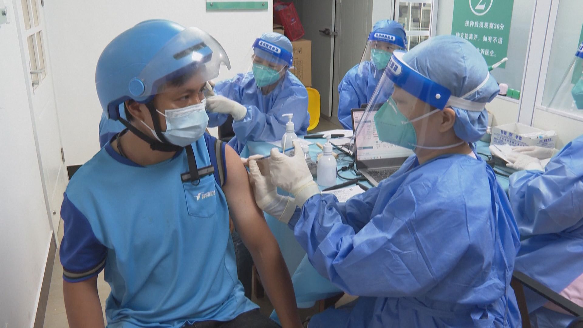 中國疾控中心:接種後確診並非意味保護疫苗效力不足
