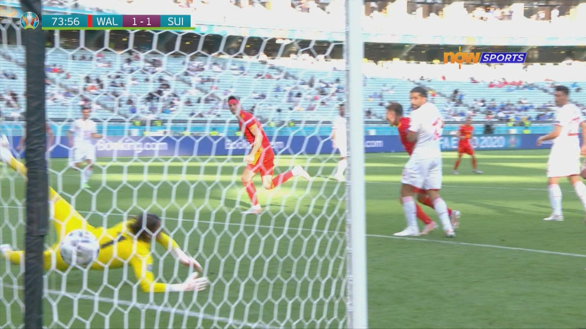 歐國盃 威爾士1:1瑞士